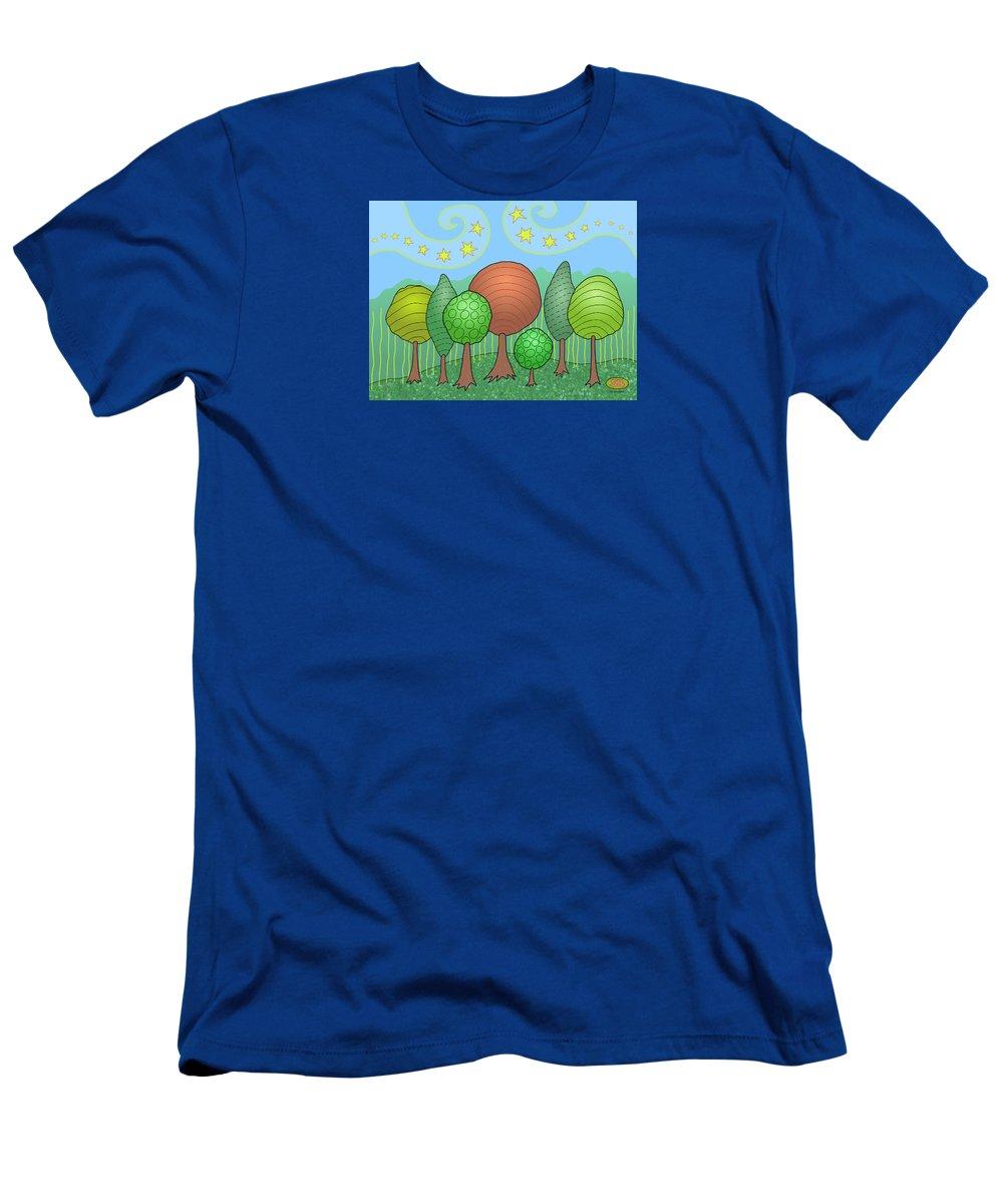 Family T-Shirt featuring the digital art My Family by Susan Bird Artwork
