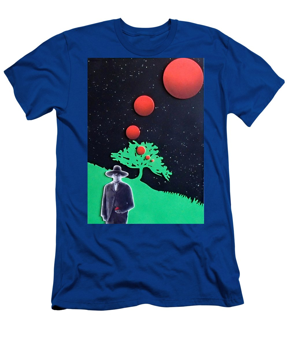Wovoka T-Shirt featuring the painting Wovoka by Philip Fleischer