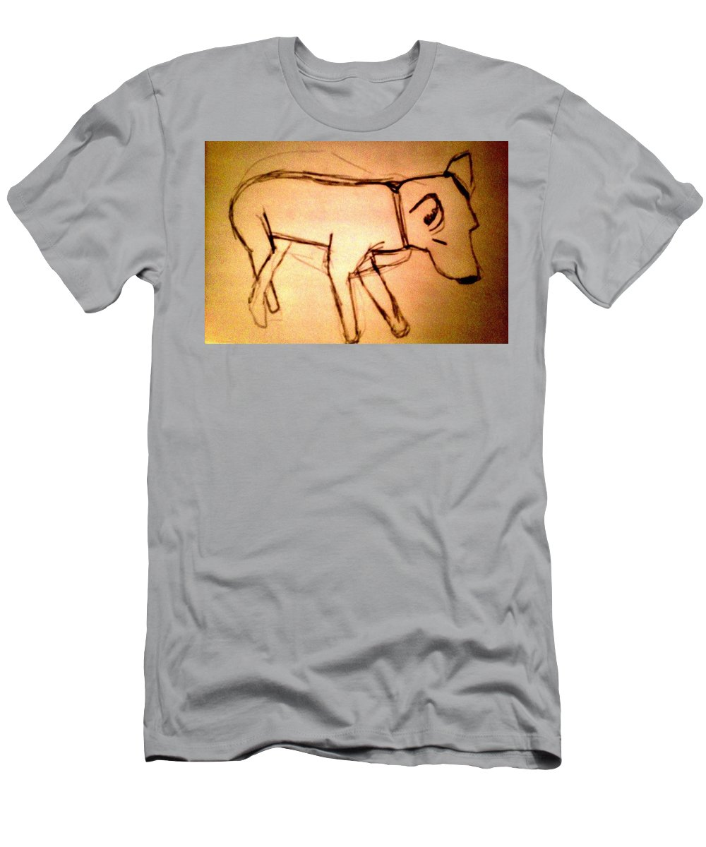 Franklyn Men's T-Shirt (Athletic Fit) featuring the photograph Art Therapy 199 by Michele Monk