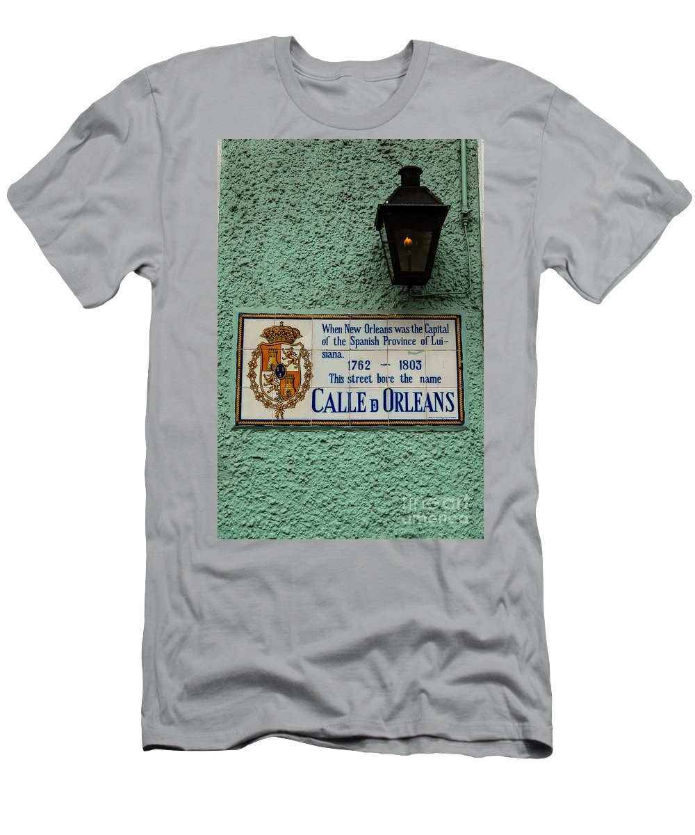 New Orleans Men's T-Shirt (Athletic Fit) featuring the photograph Calle Orleans by Susie Hoffpauir