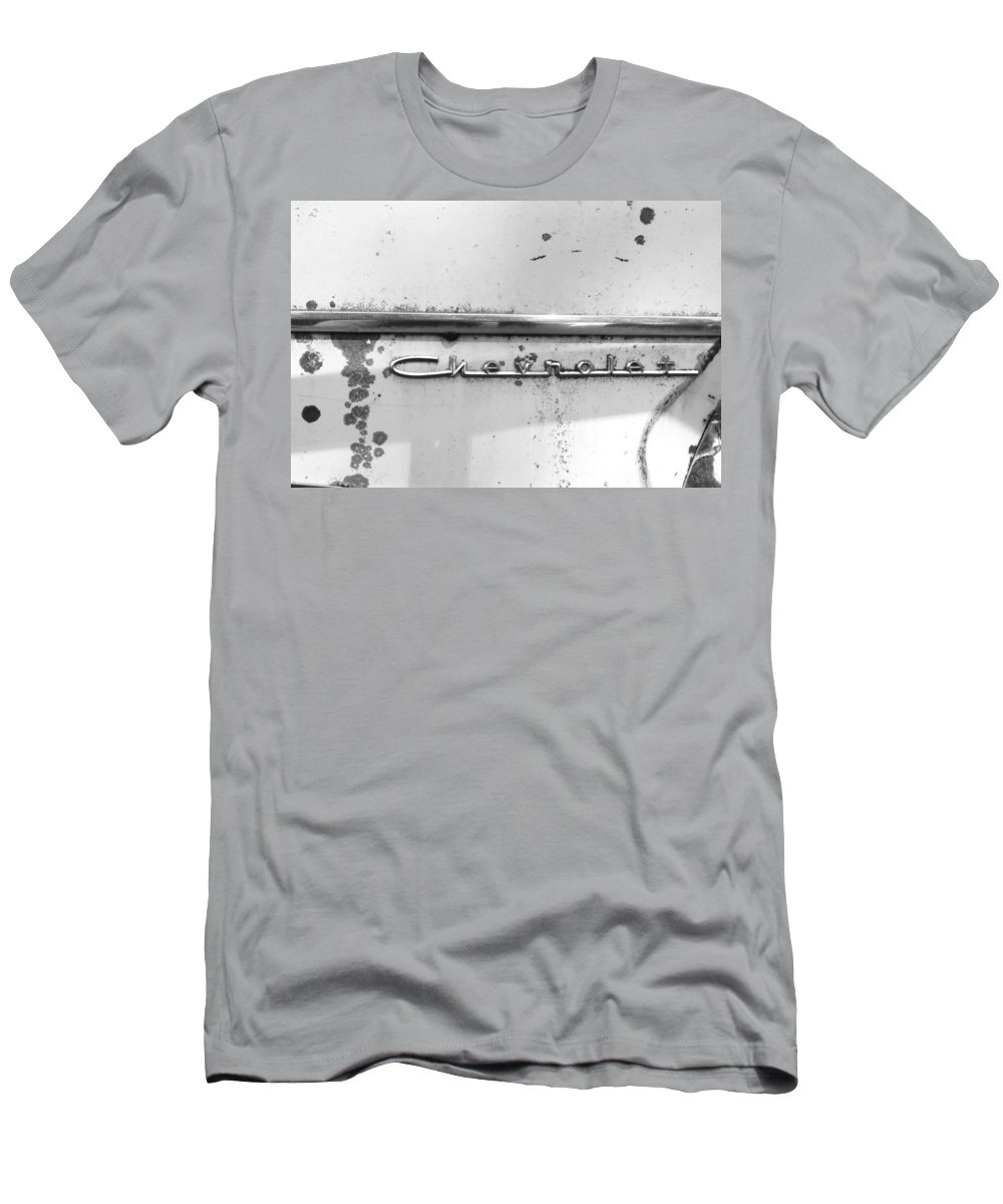 Men's T-Shirt (Athletic Fit) featuring the photograph Chevrolet by Cathy Anderson