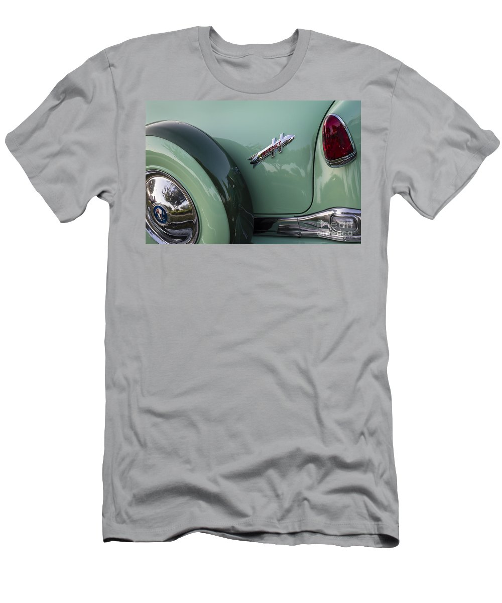 1954 Hudson Men's T-Shirt (Athletic Fit) featuring the photograph Hudson Hornet by Dennis Hedberg