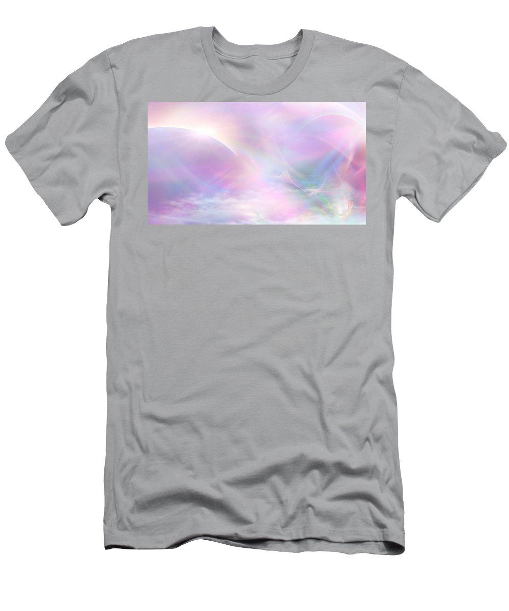Phil Sadler Men's T-Shirt (Athletic Fit) featuring the digital art Past Tales by Phil Sadler