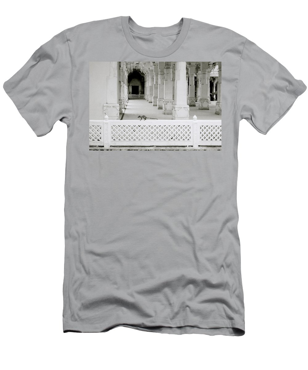 Serene Men's T-Shirt (Athletic Fit) featuring the photograph Stillness by Shaun Higson