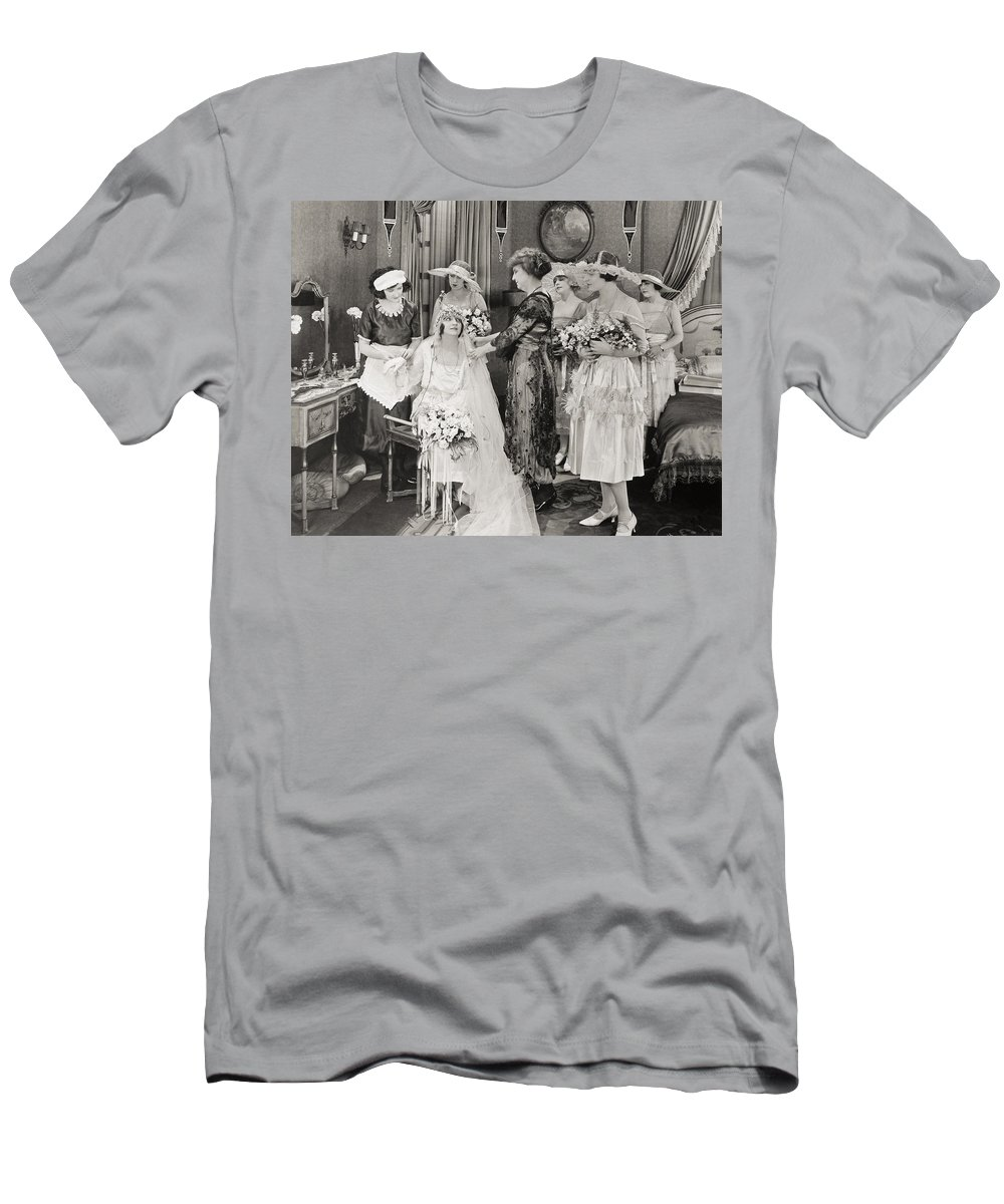 1921 Men's T-Shirt (Athletic Fit) featuring the photograph The Power Within, 1921 by Granger