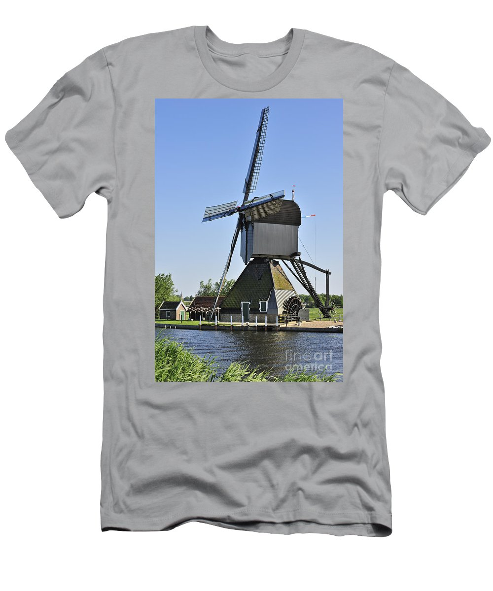 Wooden Men's T-Shirt (Athletic Fit) featuring the photograph 110714p052 by Arterra Picture Library