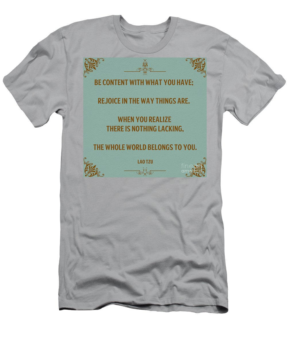 Men's T-Shirt (Athletic Fit) featuring the photograph 169- Lao Tzu by Joseph Keane
