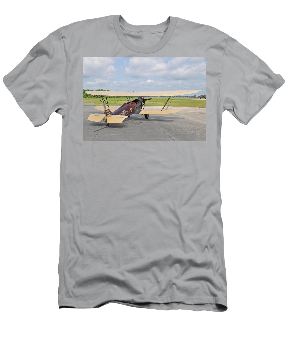 New Standard Men's T-Shirt (Athletic Fit) featuring the photograph 1929 New Standard D-25 by John Black