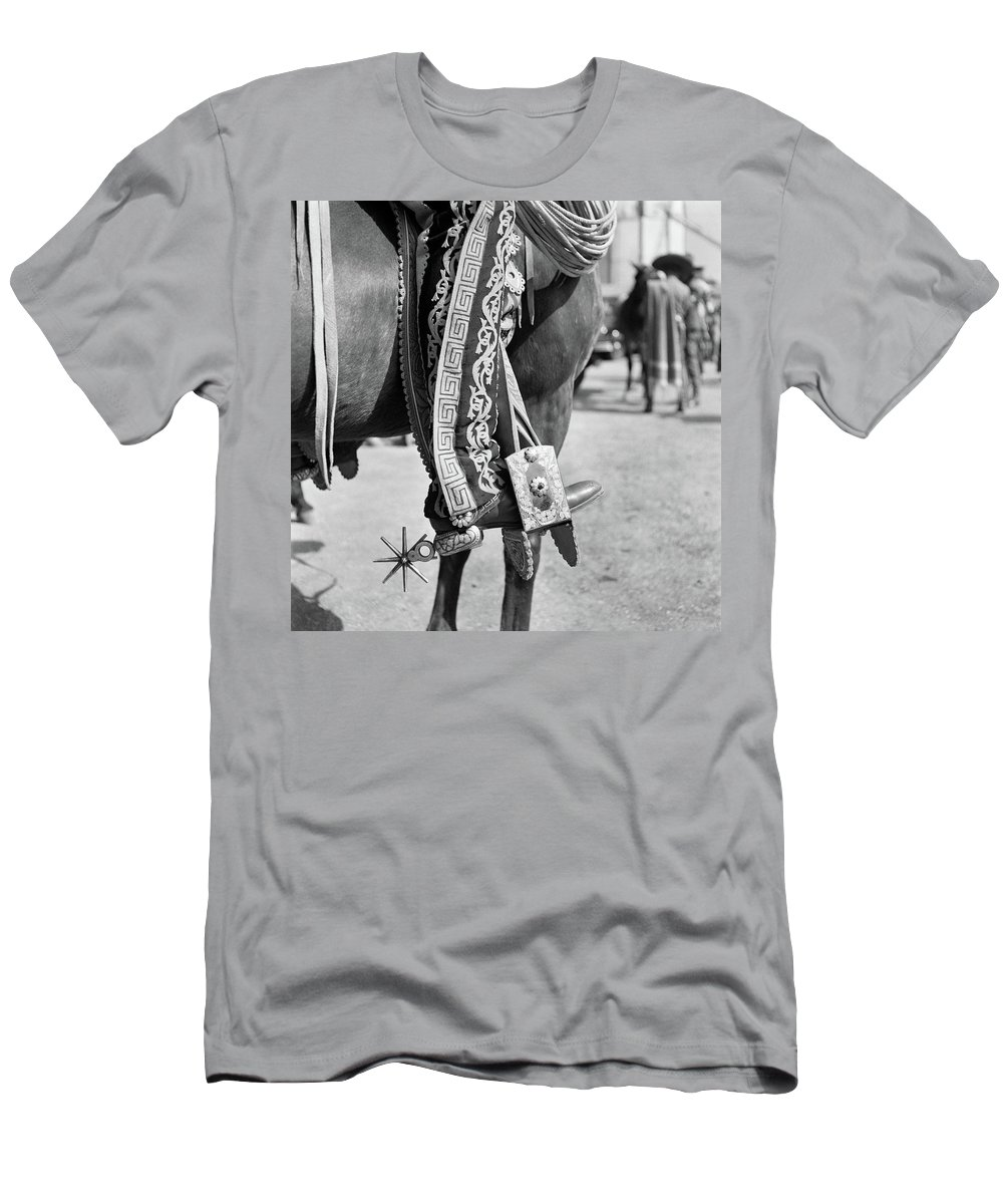 Photography Men's T-Shirt (Athletic Fit) featuring the photograph 1930s Detail Of Traditional Charro by Vintage Images