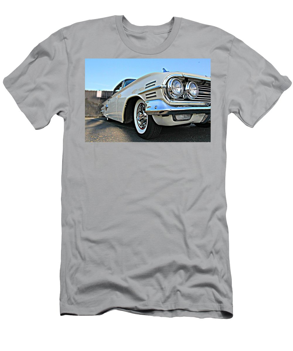1960 Men's T-Shirt (Athletic Fit) featuring the photograph 1960 Impala by Steve Natale