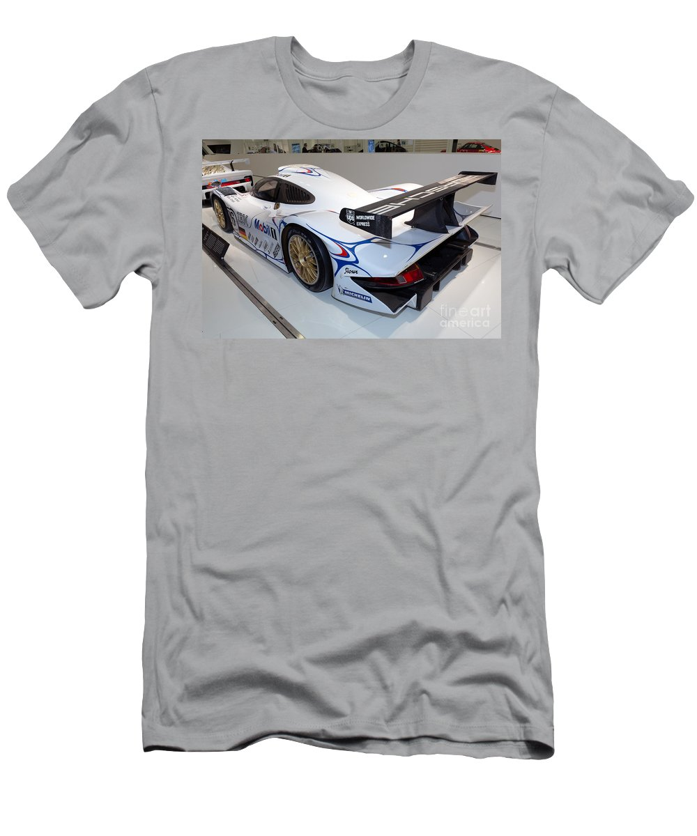3d Men's T-Shirt (Athletic Fit) featuring the photograph 1998 Porsche 911 Gt1 by Paul Fearn