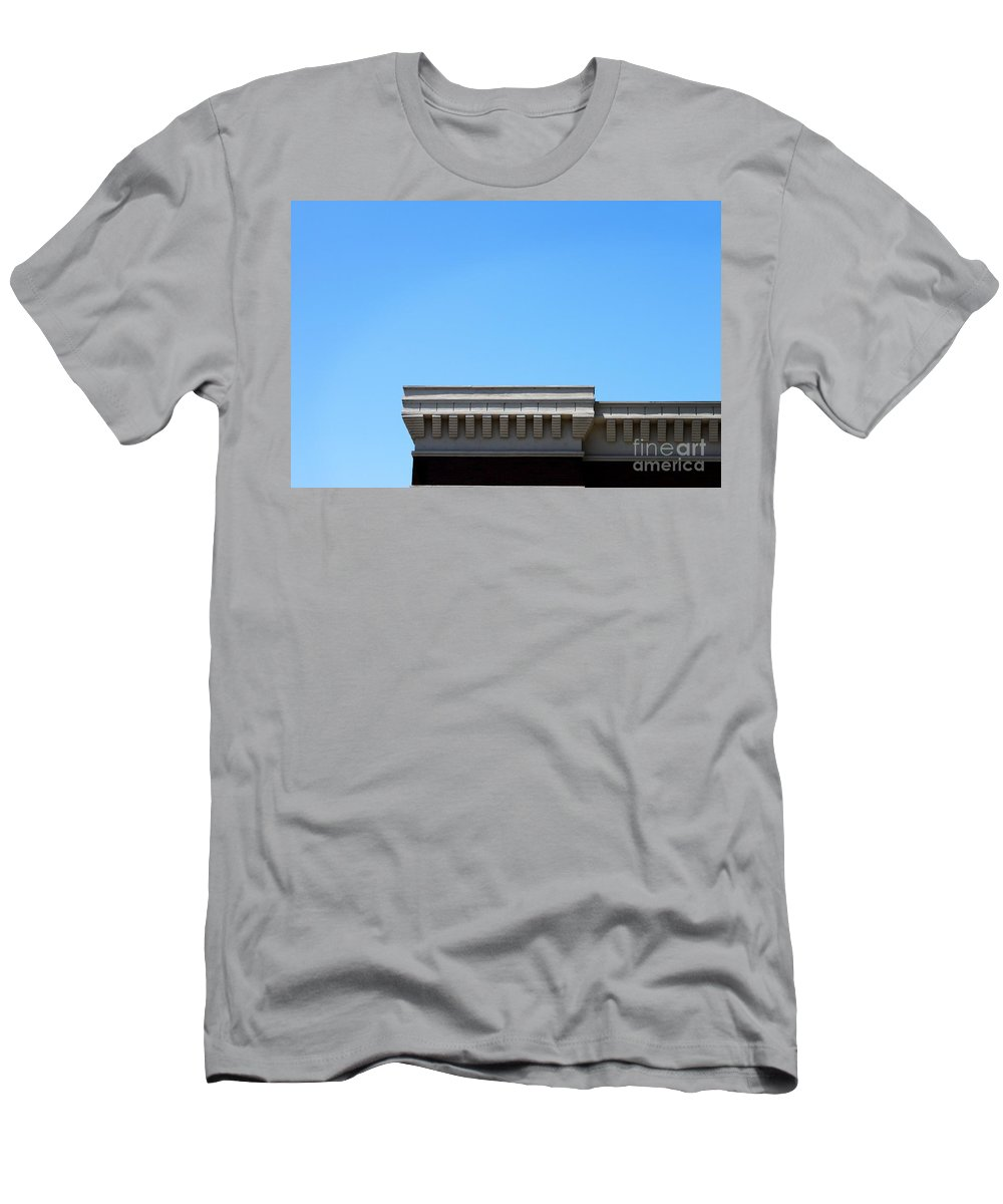 Roof Men's T-Shirt (Athletic Fit) featuring the photograph Roof Top by Henrik Lehnerer