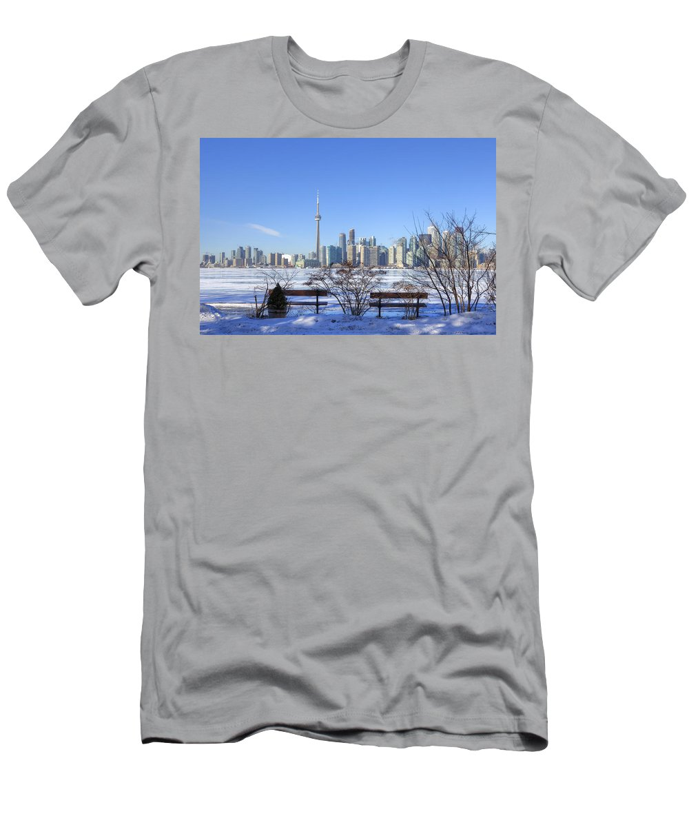Skyline T-Shirt featuring the photograph Toronto by Joana Kruse