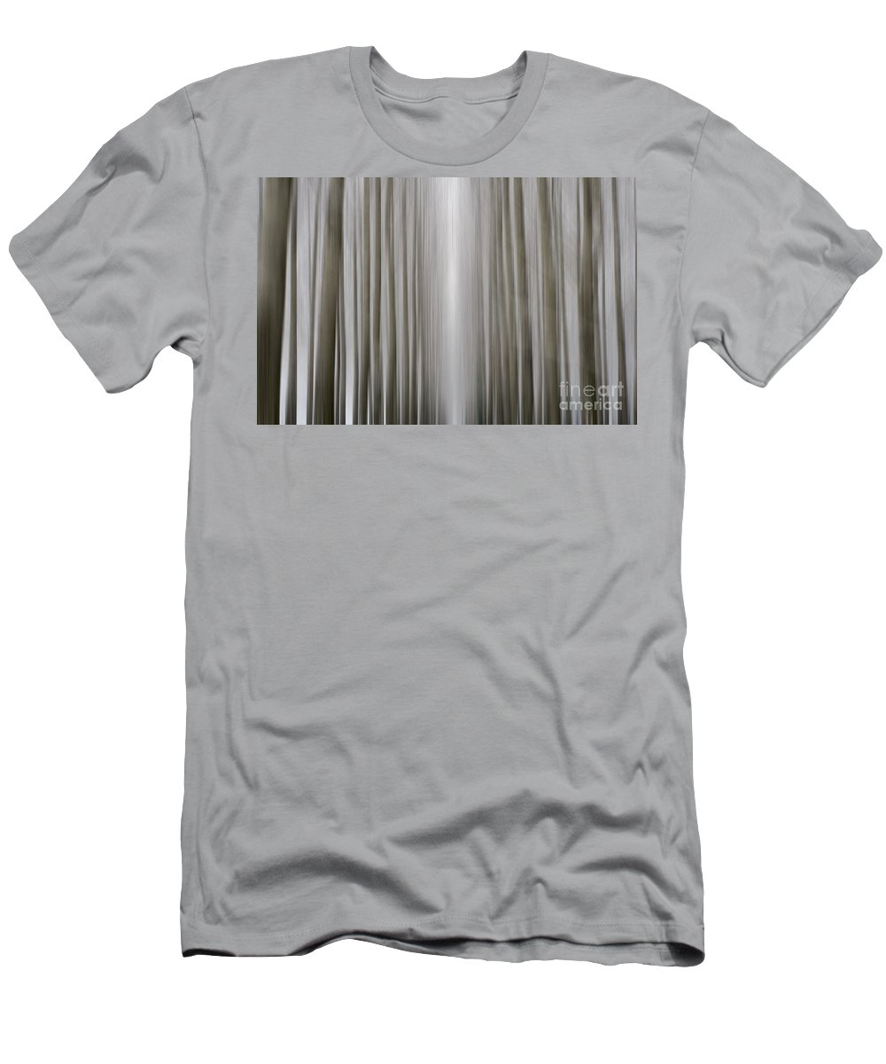 Trees Men's T-Shirt (Athletic Fit) featuring the photograph Trees by Mats Silvan