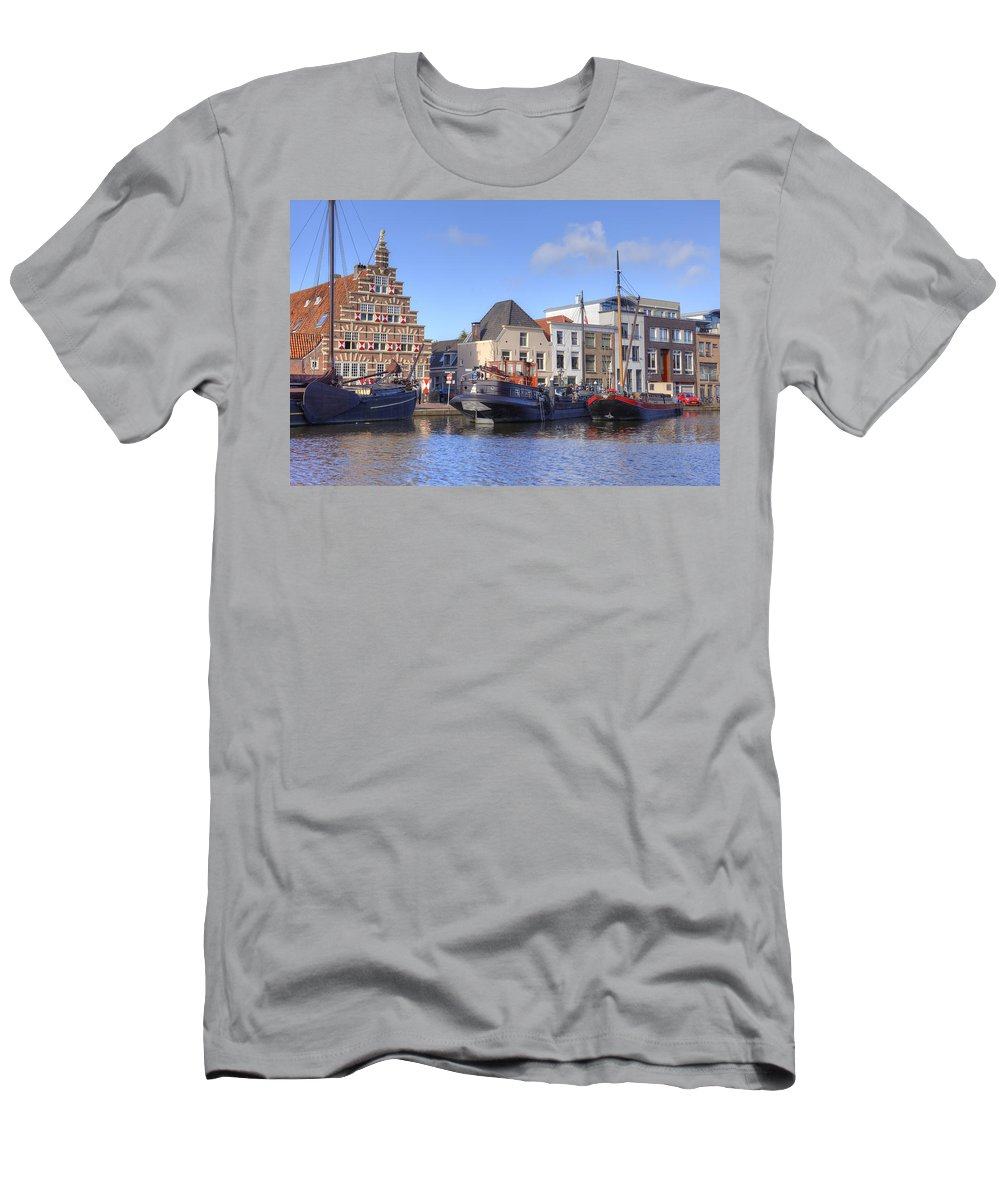 Leiden Men's T-Shirt (Athletic Fit) featuring the photograph Leiden by Joana Kruse
