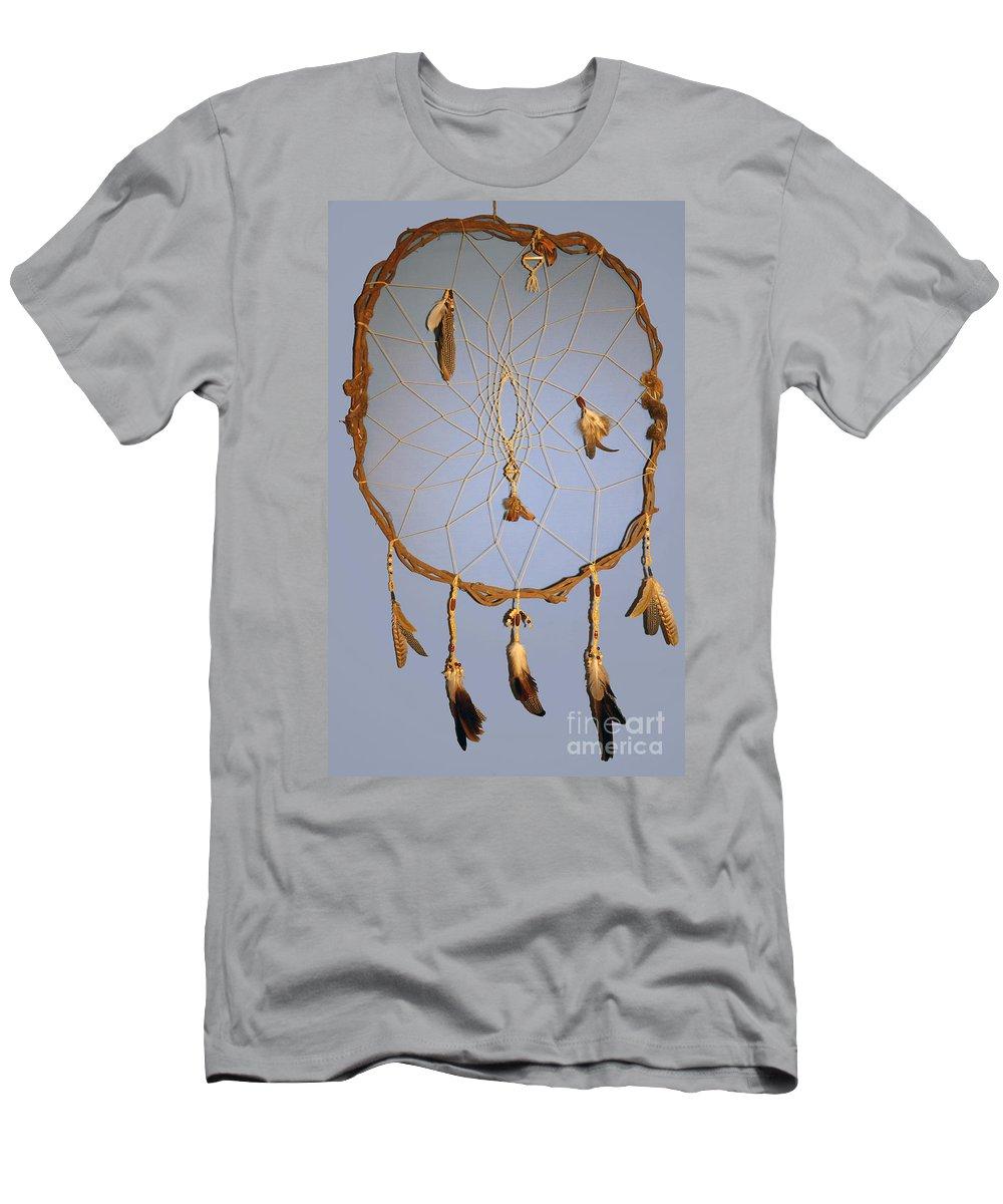 Dreamcatcher Men's T-Shirt (Athletic Fit) featuring the photograph Dream Catcher by Michelle S White