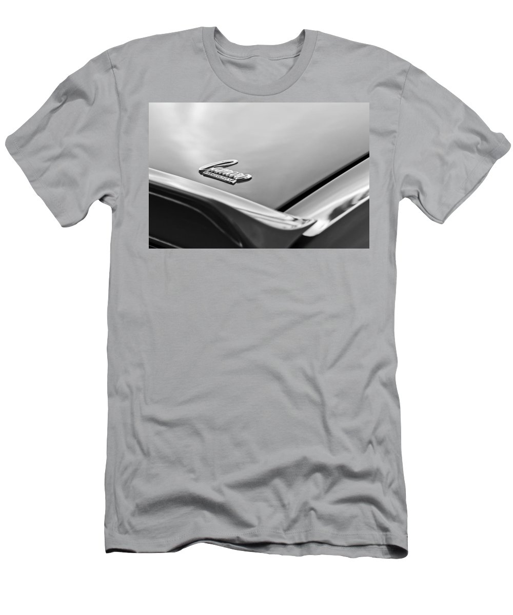 1969 Chevrolet Camaro Emblem Men's T-Shirt (Athletic Fit) featuring the photograph 1969 Chevrolet Camaro Emblem by Jill Reger