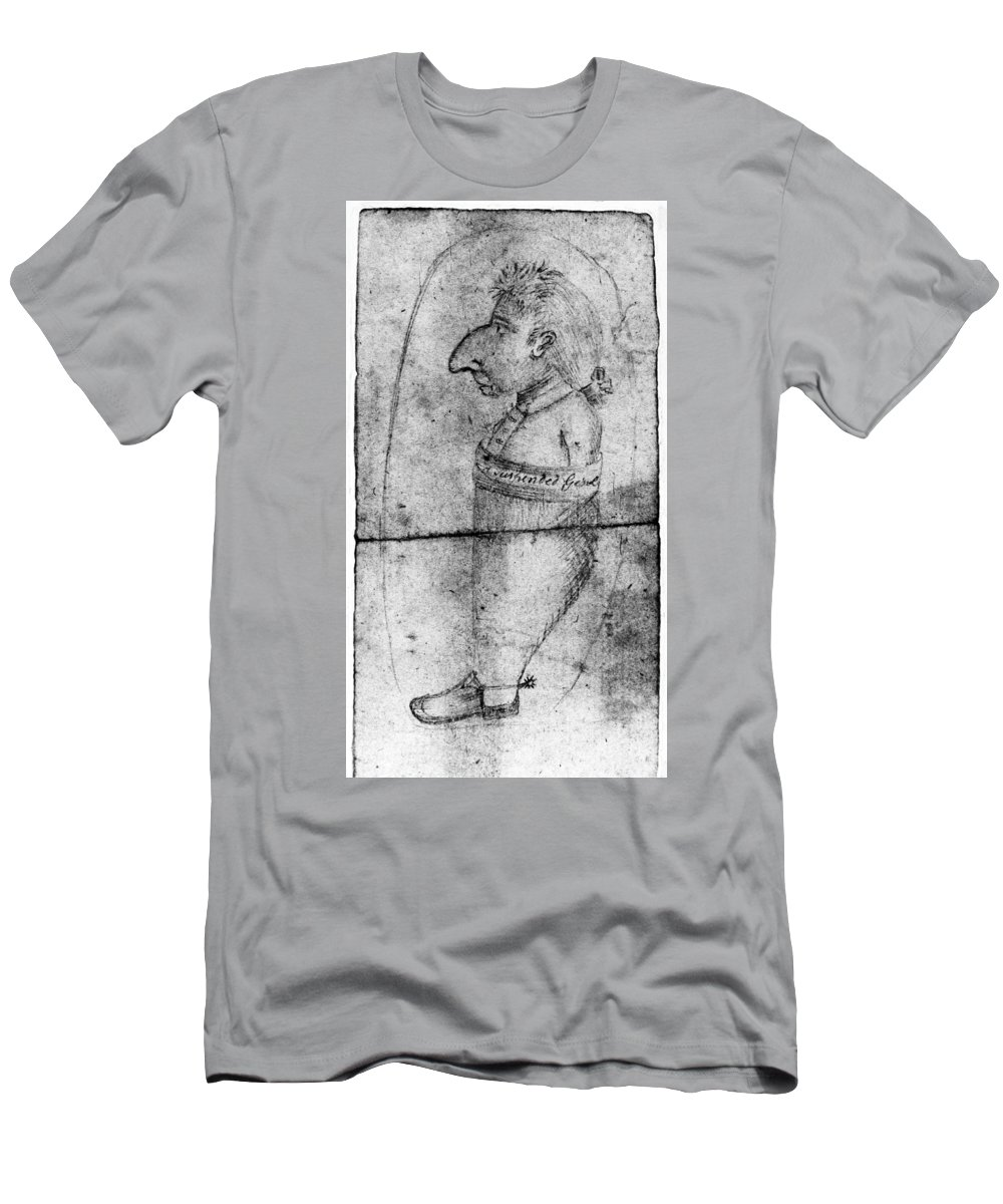 1778 Men's T-Shirt (Athletic Fit) featuring the photograph Charles Lee (1731-1782) by Granger