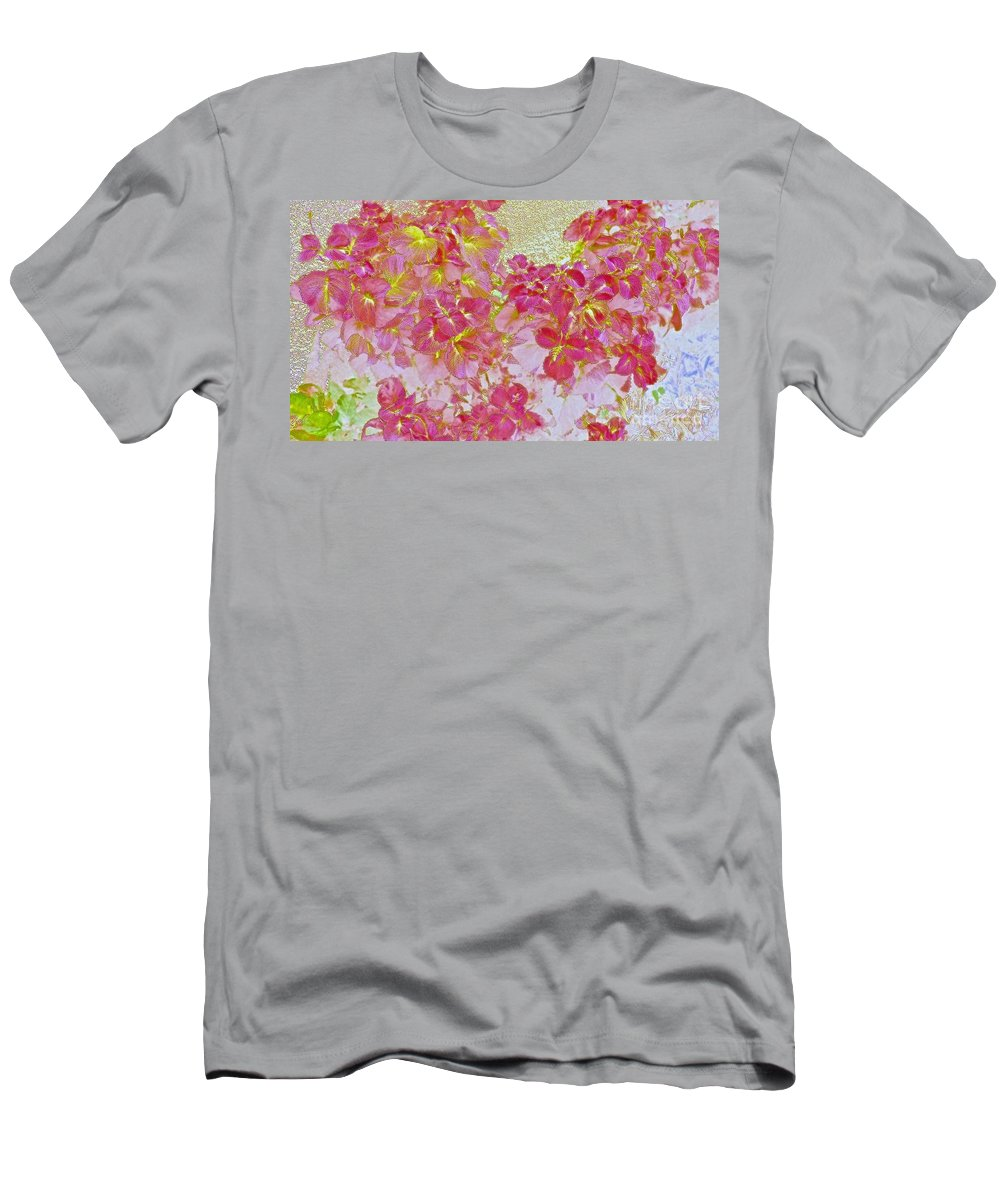 Maui Men's T-Shirt (Athletic Fit) featuring the photograph Together Again Watercolor Photography by Cheryl Cutler