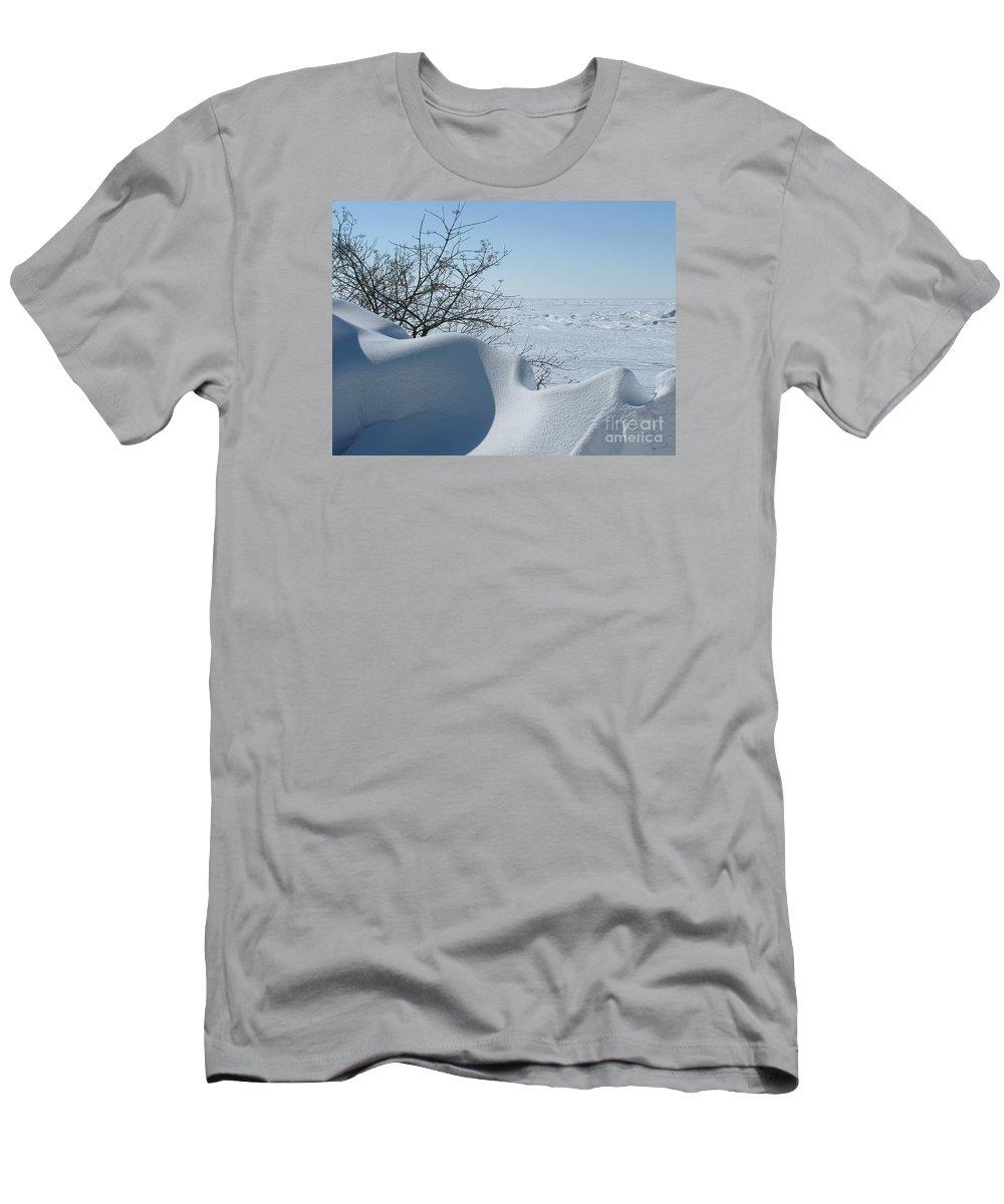 Winter T-Shirt featuring the photograph A Gentle Beauty by Ann Horn