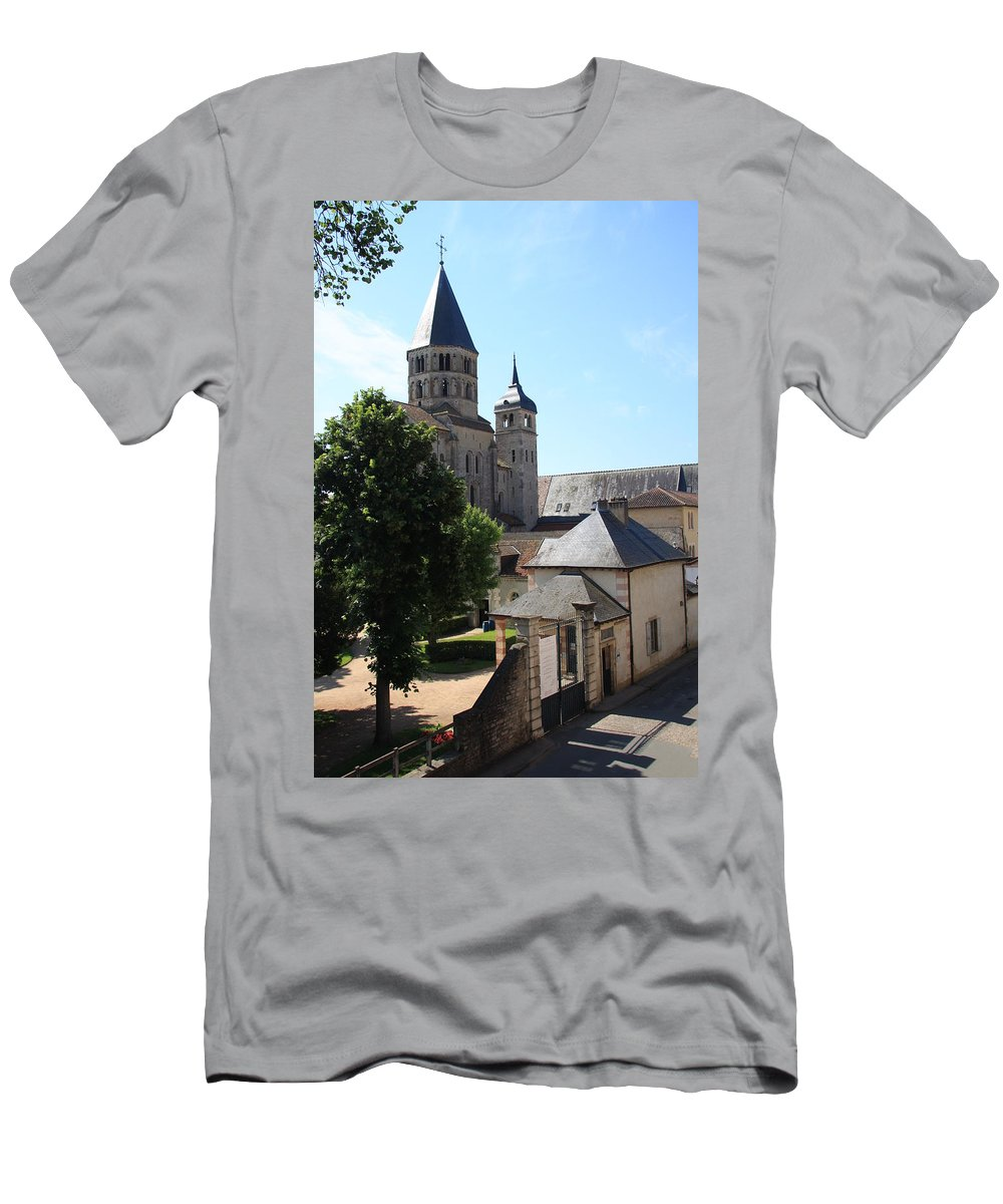 Minster T-Shirt featuring the photograph Abbey Cluny by Christiane Schulze Art And Photography