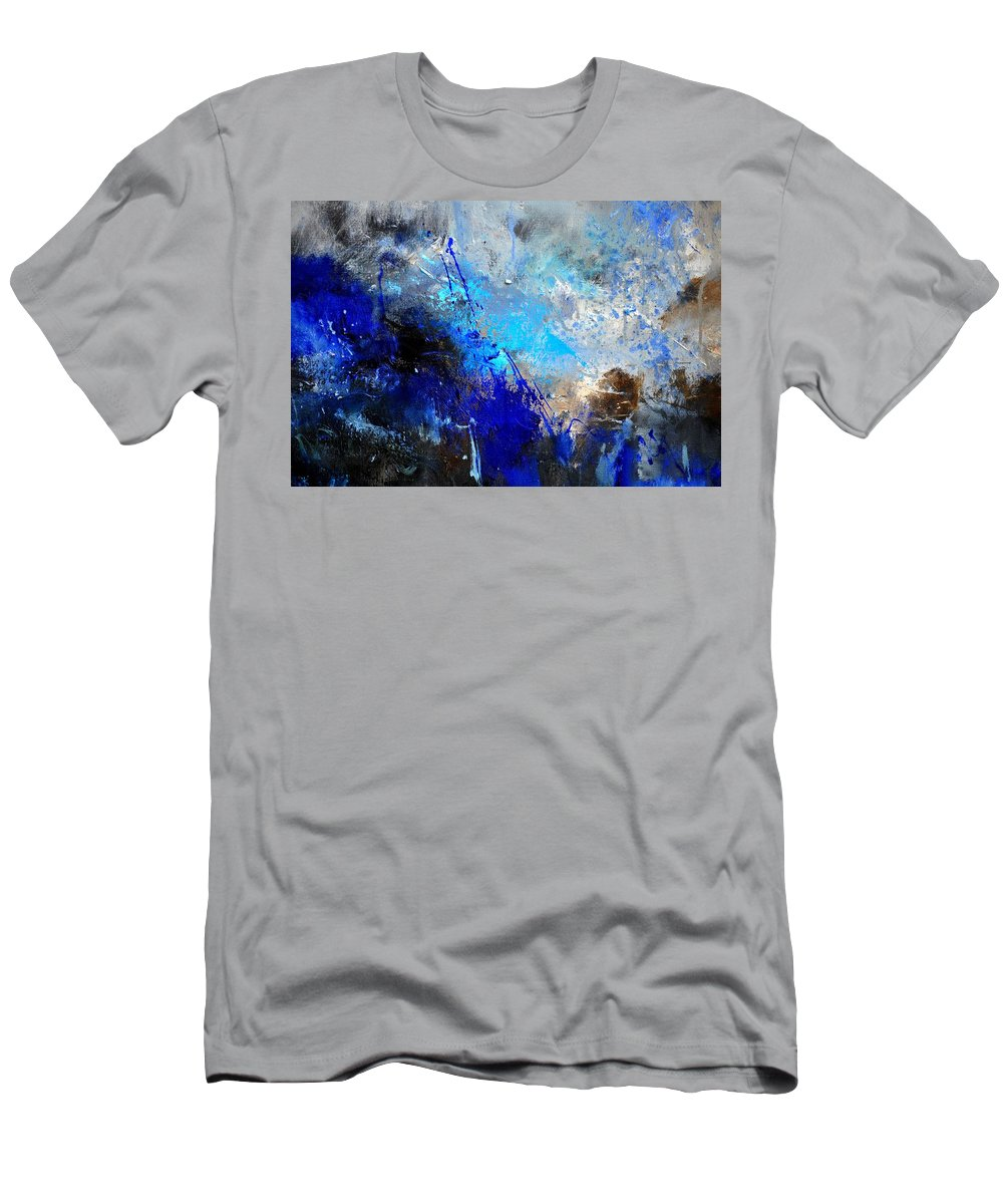 Abstract T-Shirt featuring the painting Abstract 964180 by Pol Ledent