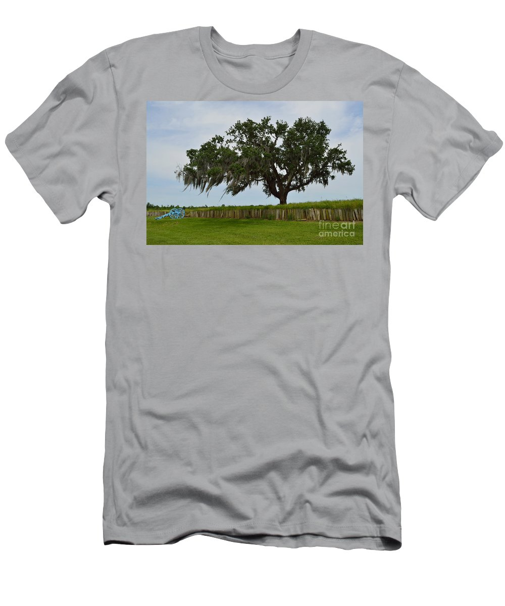Battle Of New Orleans Men's T-Shirt (Athletic Fit) featuring the photograph After The Battle by Alys Caviness-Gober