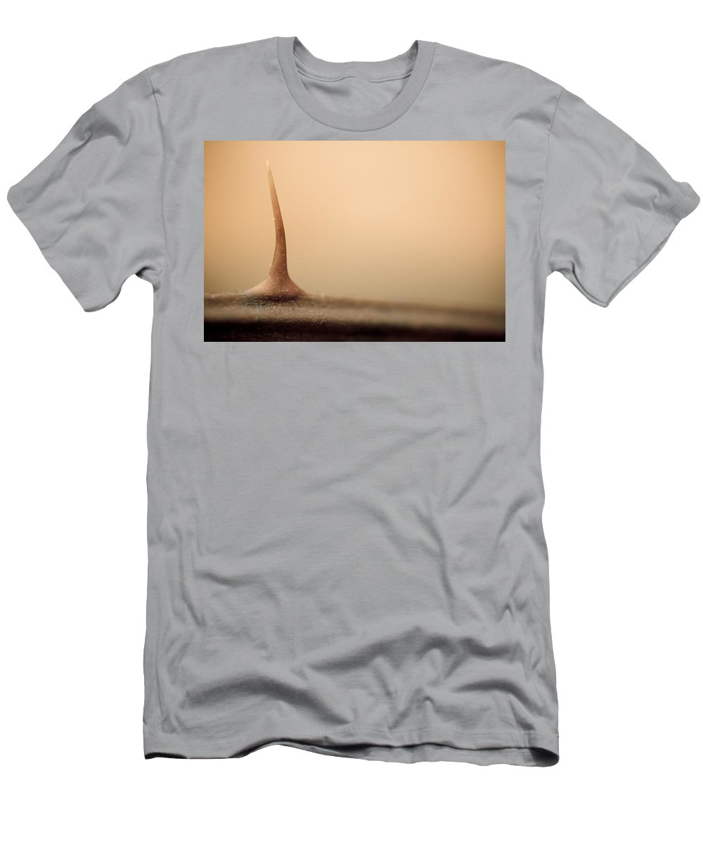 Thorn Men's T-Shirt (Athletic Fit) featuring the photograph After The Flesh by Shane Holsclaw
