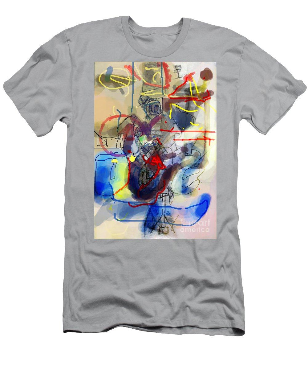Torah Men's T-Shirt (Athletic Fit) featuring the digital art Self-renewal 23c by David Baruch Wolk