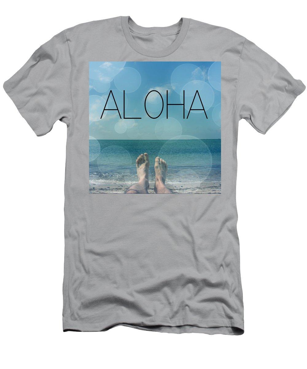 Aloha Men's T-Shirt (Athletic Fit) featuring the photograph Aloha by Mark Ashkenazi