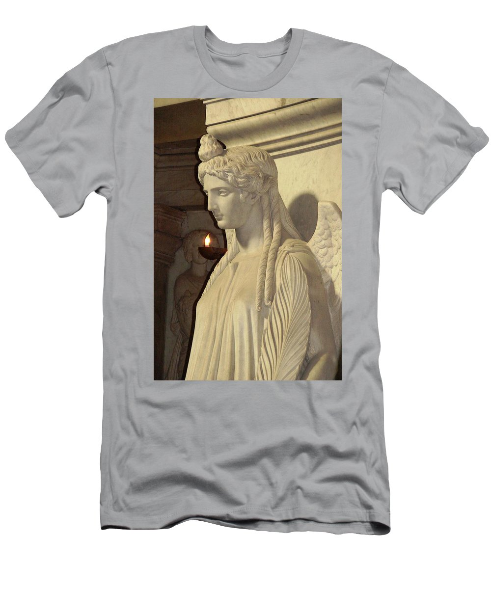 Angel Men's T-Shirt (Athletic Fit) featuring the photograph Angel by Cristina Stefan