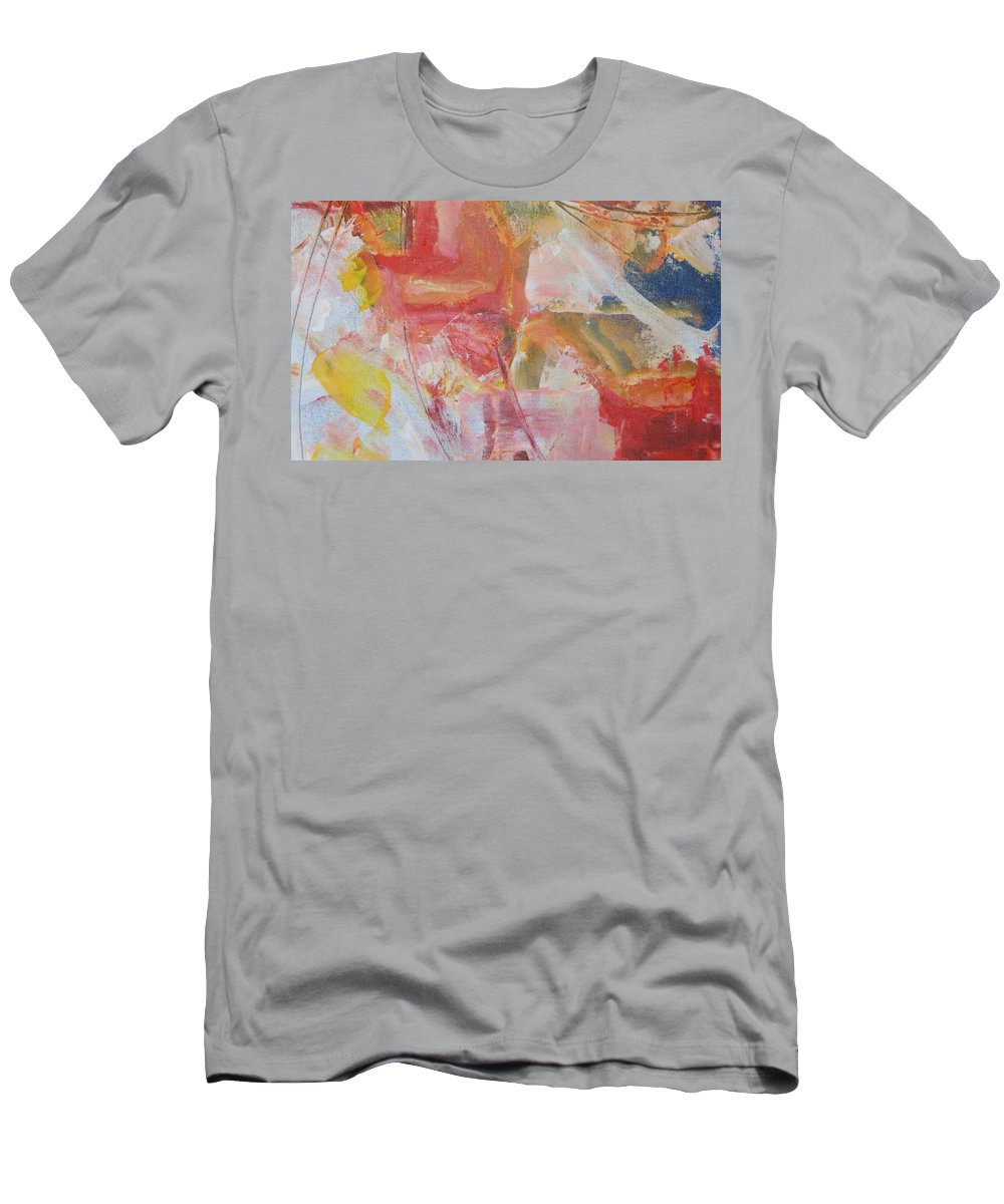Abstract Men's T-Shirt (Athletic Fit) featuring the painting Anger by Lord Frederick Lyle Morris - Disabled Veteran