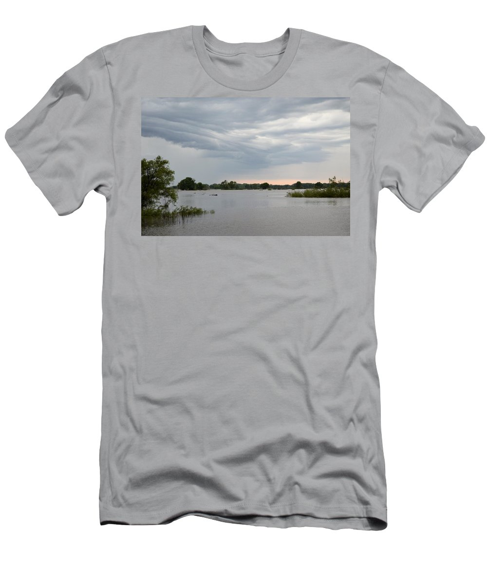 Storm Men's T-Shirt (Athletic Fit) featuring the photograph Approaching Storm by Bonfire Photography