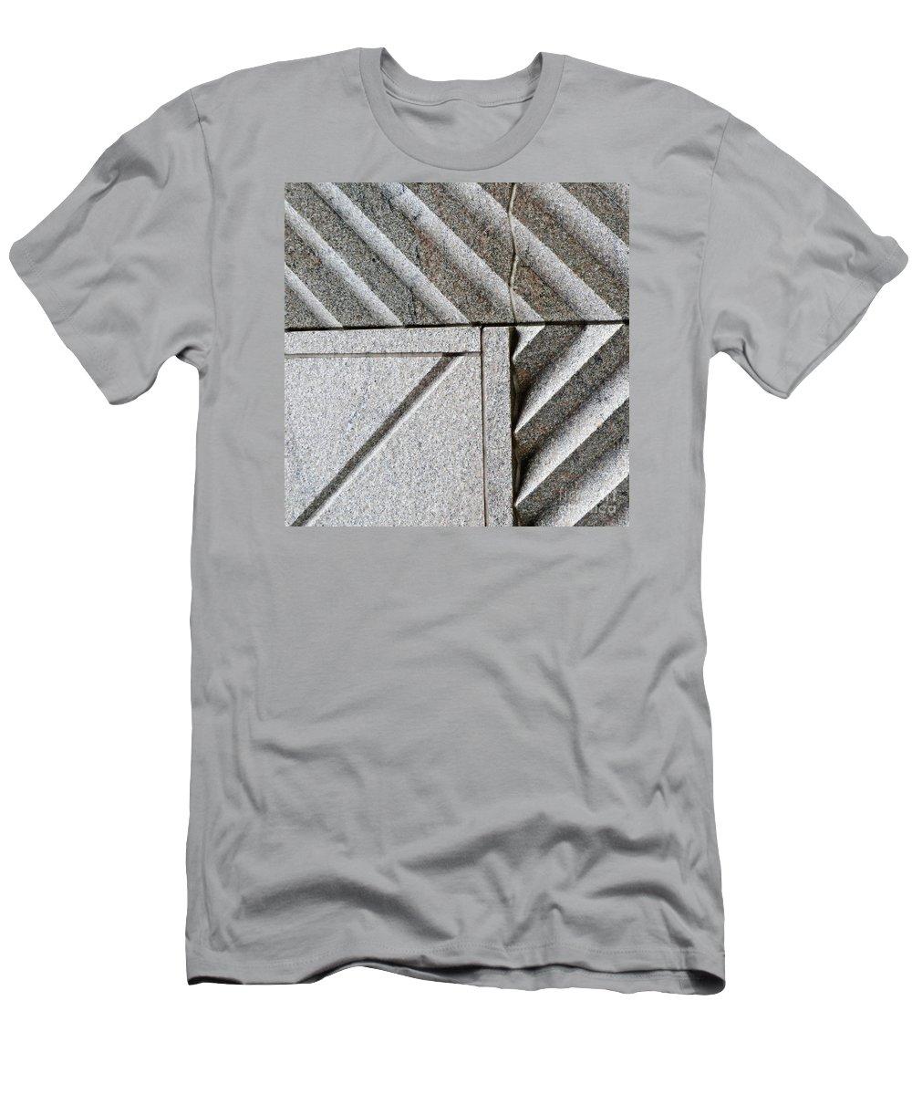 Concrete Men's T-Shirt (Athletic Fit) featuring the photograph Architectural Detail 2 by Sarah Loft