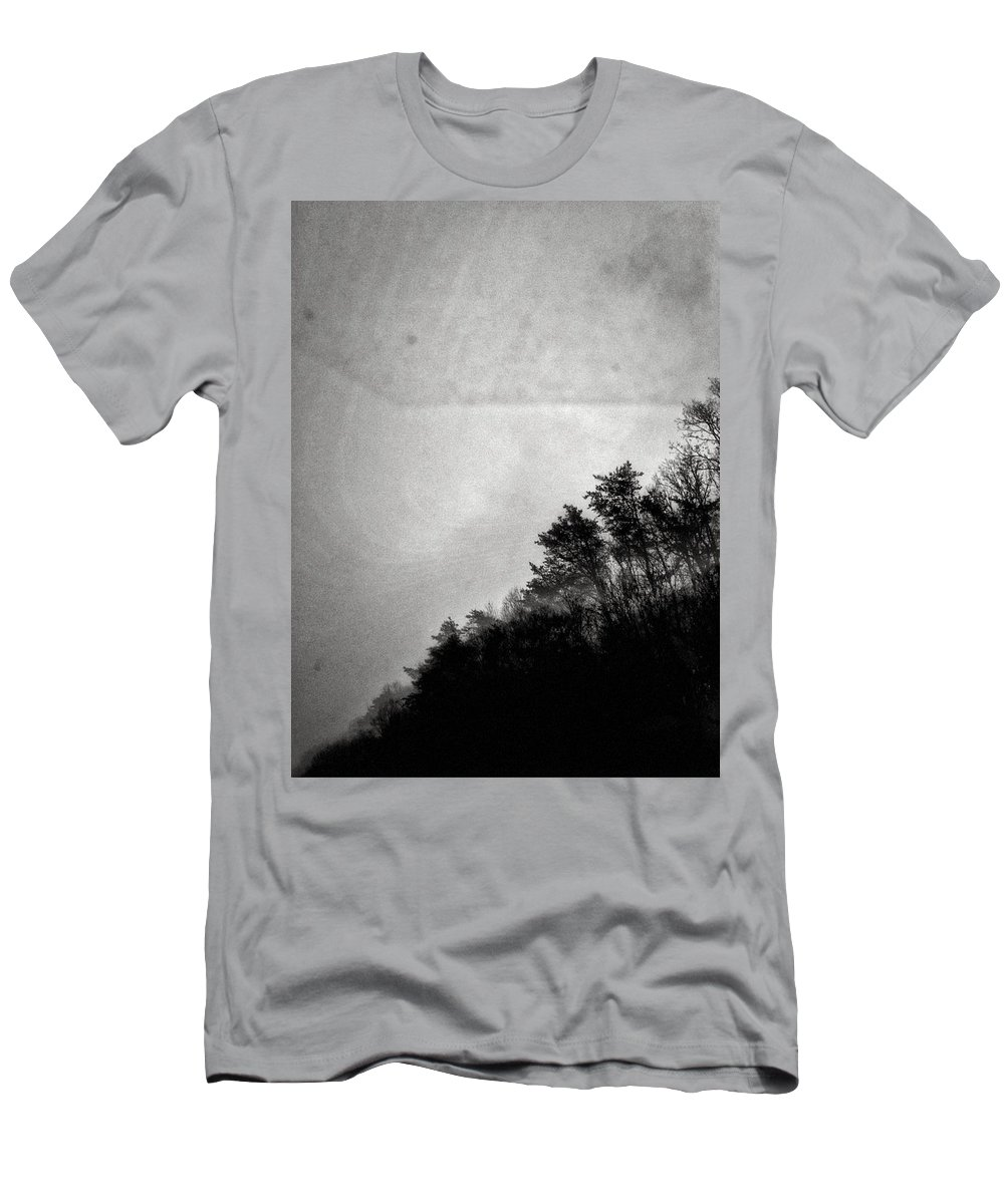 Trees Men's T-Shirt (Athletic Fit) featuring the photograph Arkansas Trees by H James Hoff