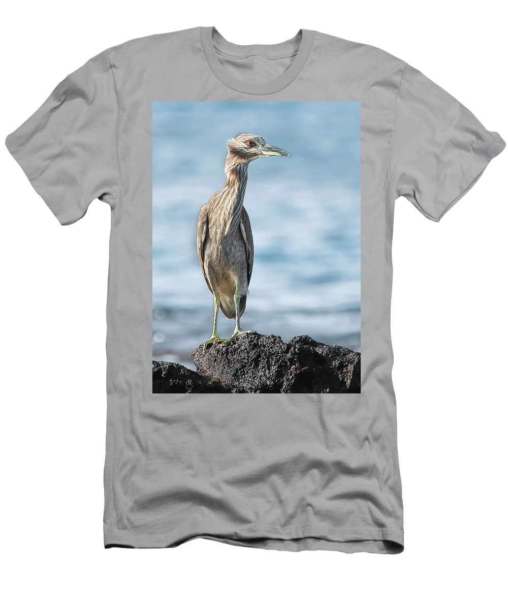 Dan Sabin Men's T-Shirt (Athletic Fit) featuring the photograph Aukuu by Dan Sabin