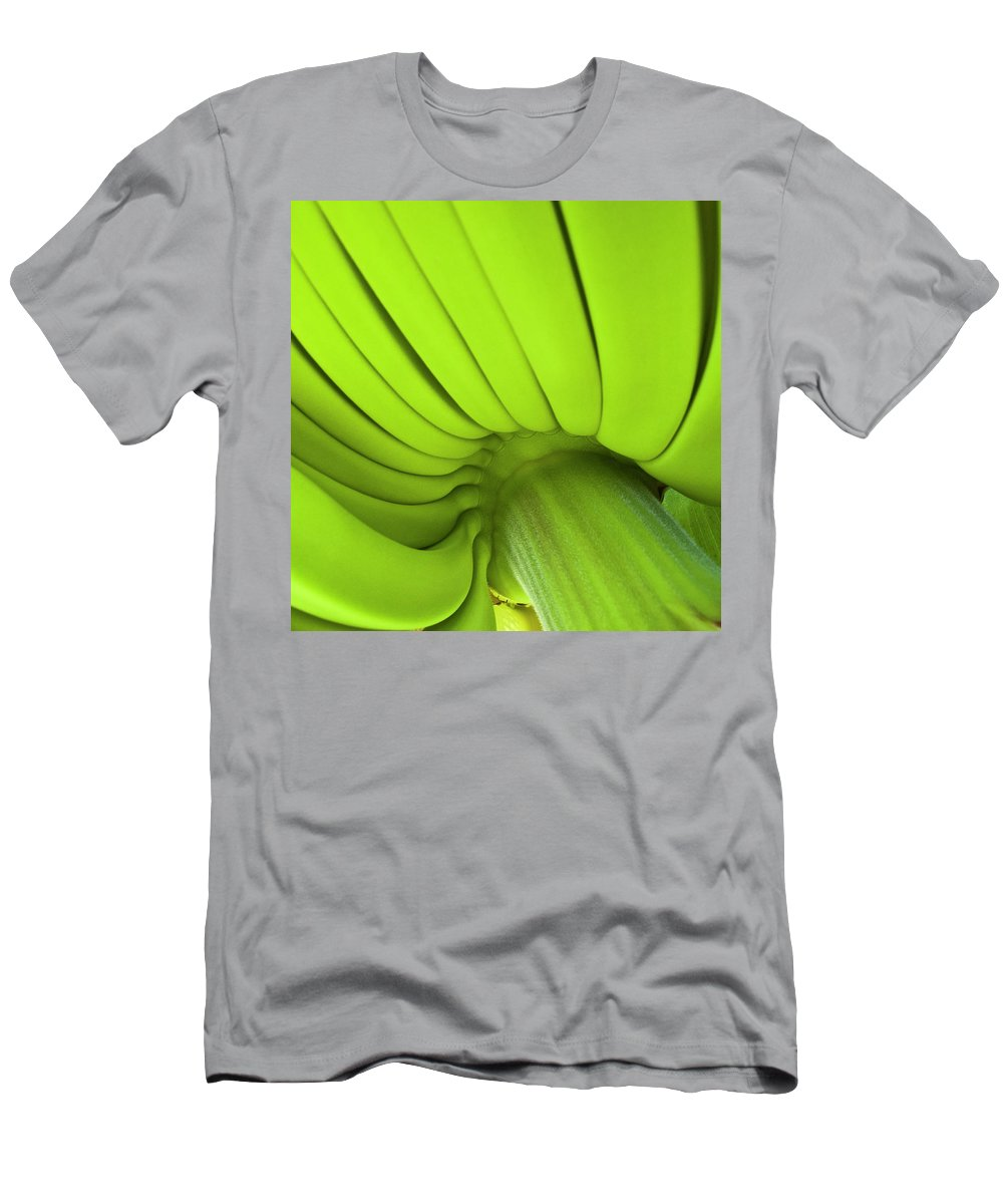 Nature Men's T-Shirt (Athletic Fit) featuring the photograph Banana Bunch by Heiko Koehrer-Wagner
