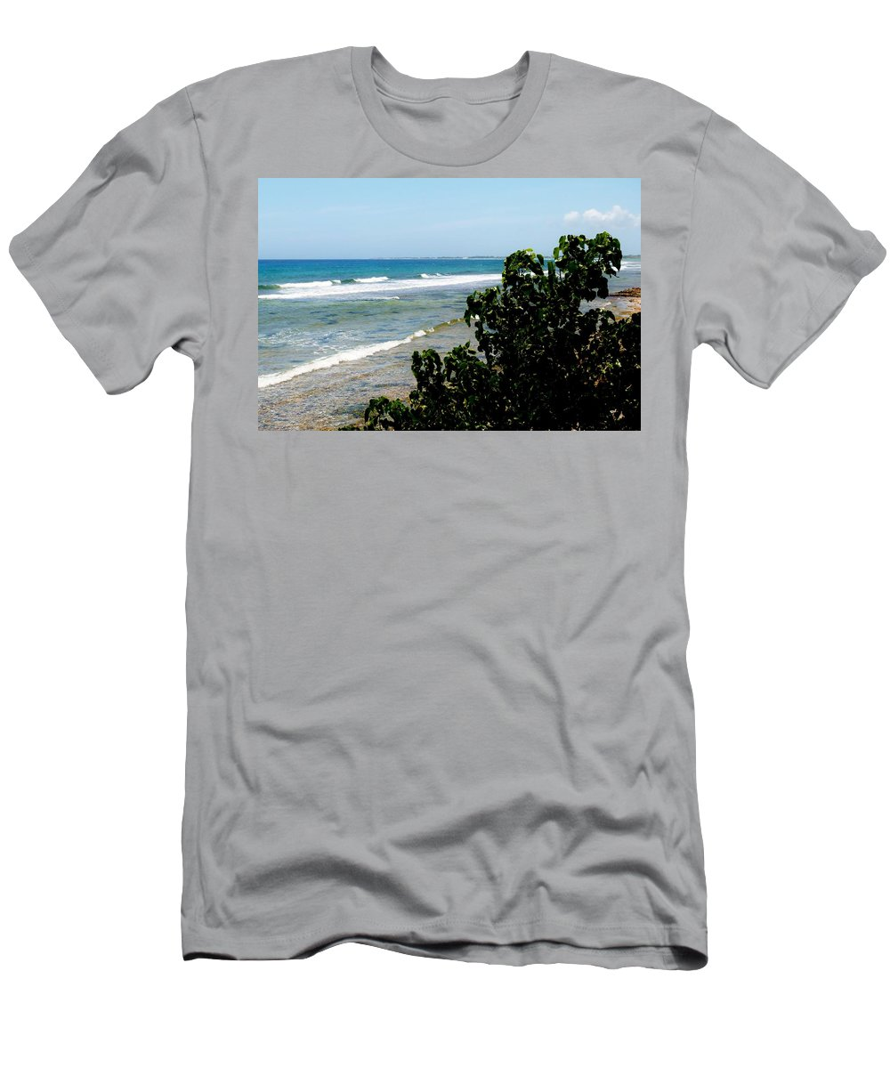Color Men's T-Shirt (Athletic Fit) featuring the photograph Barkers West by Amar Sheow