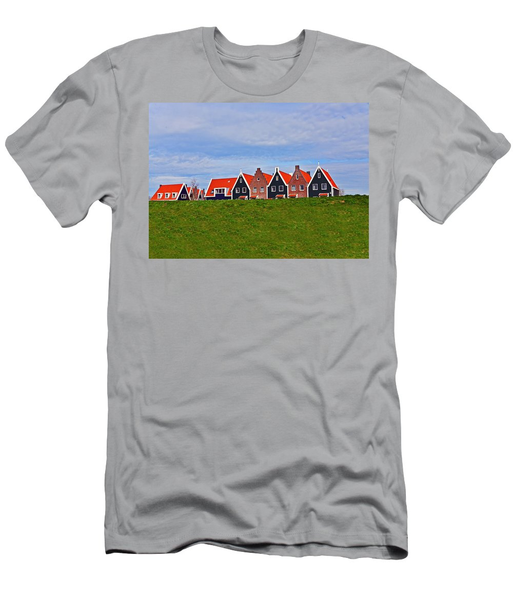 Travel Men's T-Shirt (Athletic Fit) featuring the photograph Behind The Dike by Elvis Vaughn