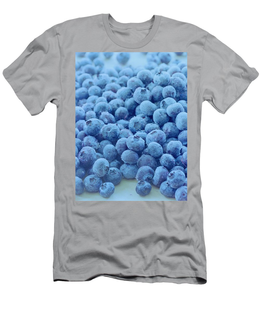 Berries T-Shirt featuring the photograph Blueberries by Romulo Yanes