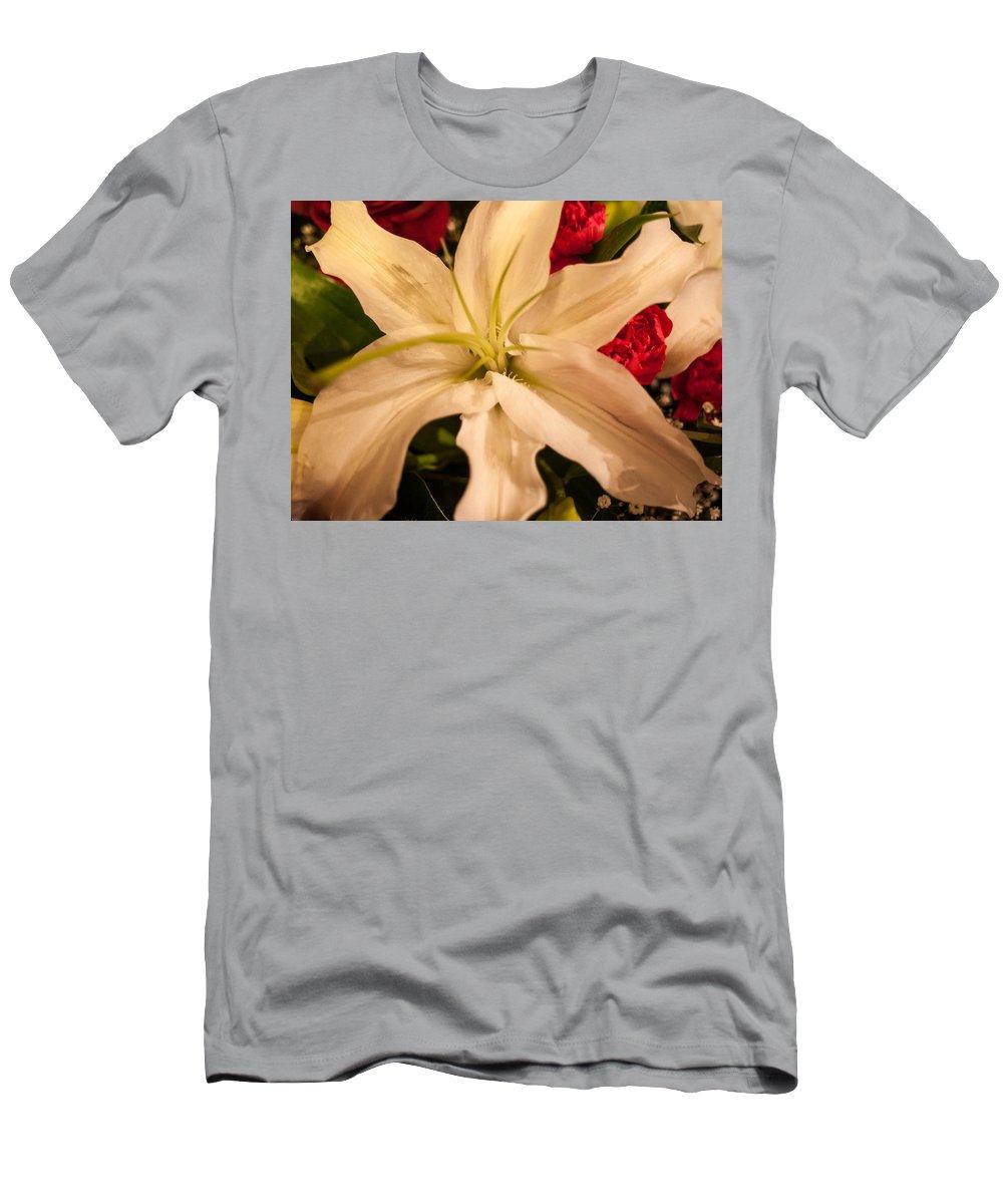 Flowers Men's T-Shirt (Athletic Fit) featuring the photograph Bouquet by Mechala Matthews