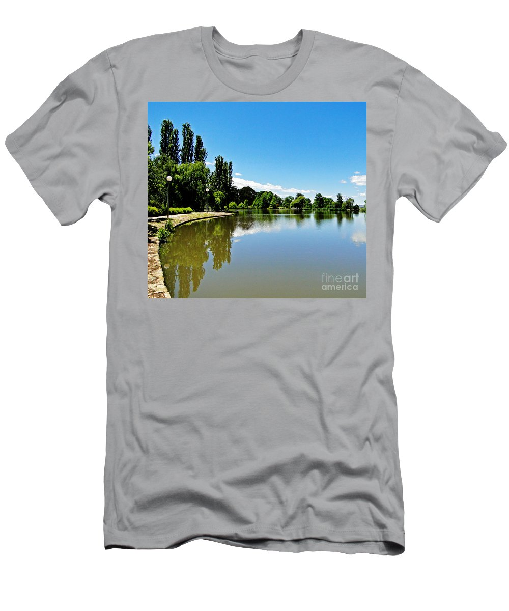Canberra Men's T-Shirt (Athletic Fit) featuring the photograph Canberra 7 by Ben Yassa