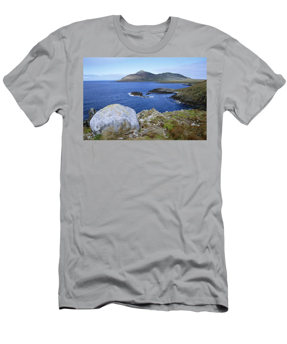 Feb0514 Men's T-Shirt (Athletic Fit) featuring the photograph Cape Horn National Park Patagonia by Tui De Roy