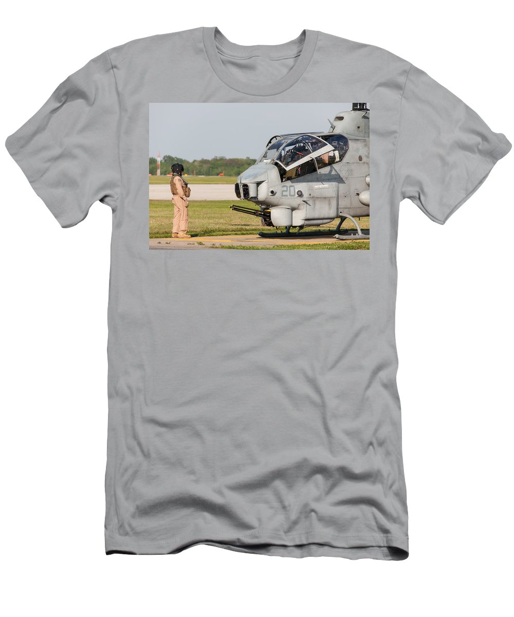 Bell Men's T-Shirt (Athletic Fit) featuring the photograph Cobra Cooldown by John Ferrante