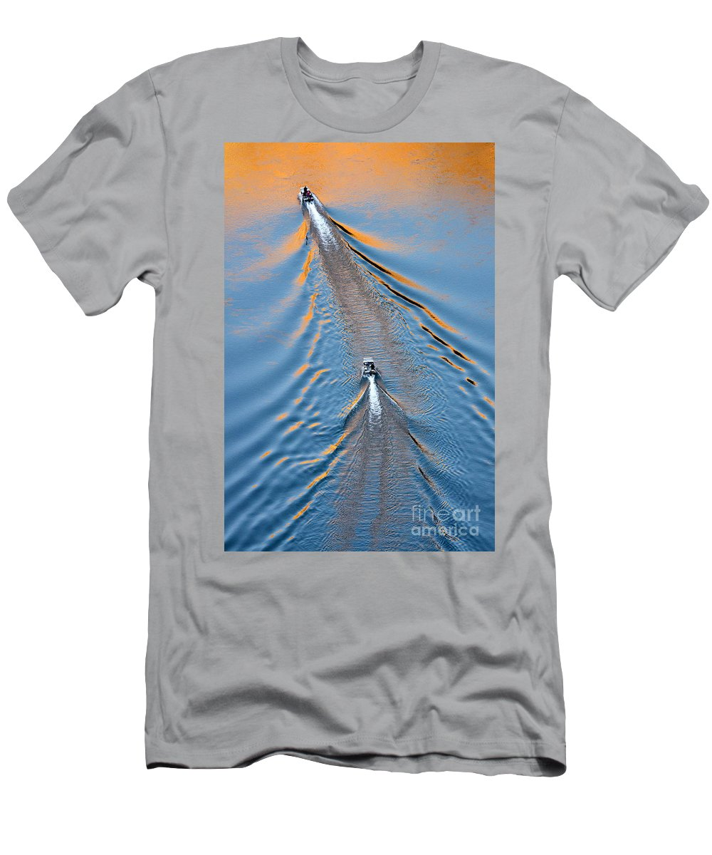 Colorado River Men's T-Shirt (Athletic Fit) featuring the photograph Colorado River Arizona by Bob Christopher