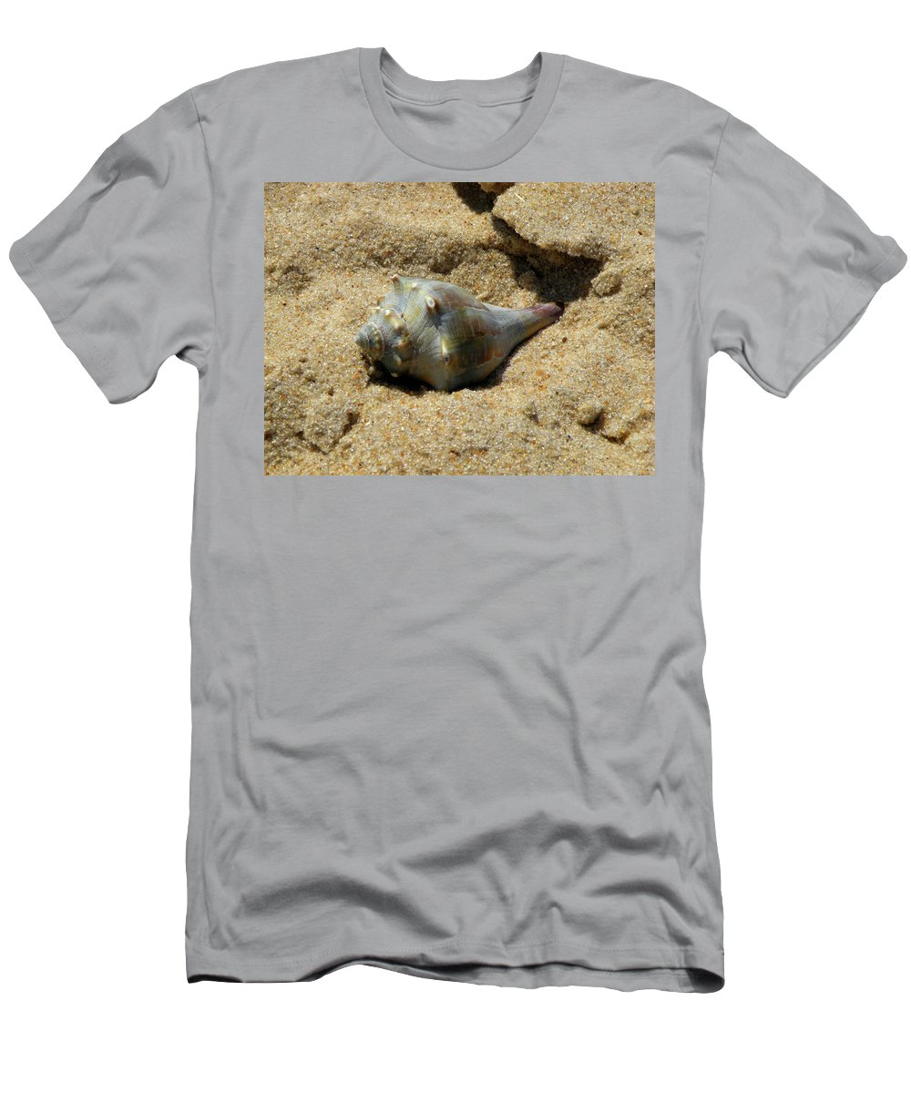 Conch Shell Men's T-Shirt (Athletic Fit) featuring the photograph Conshohocken Maple Syrup by Trish Tritz