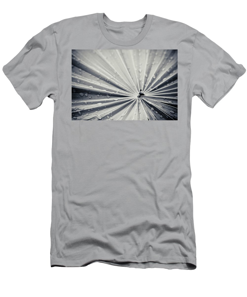 3scape Photos Men's T-Shirt (Athletic Fit) featuring the photograph Convergence by Adam Romanowicz