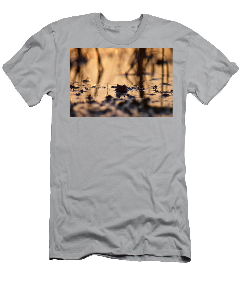 Finland Men's T-Shirt (Athletic Fit) featuring the photograph Dark Face by Jouko Lehto