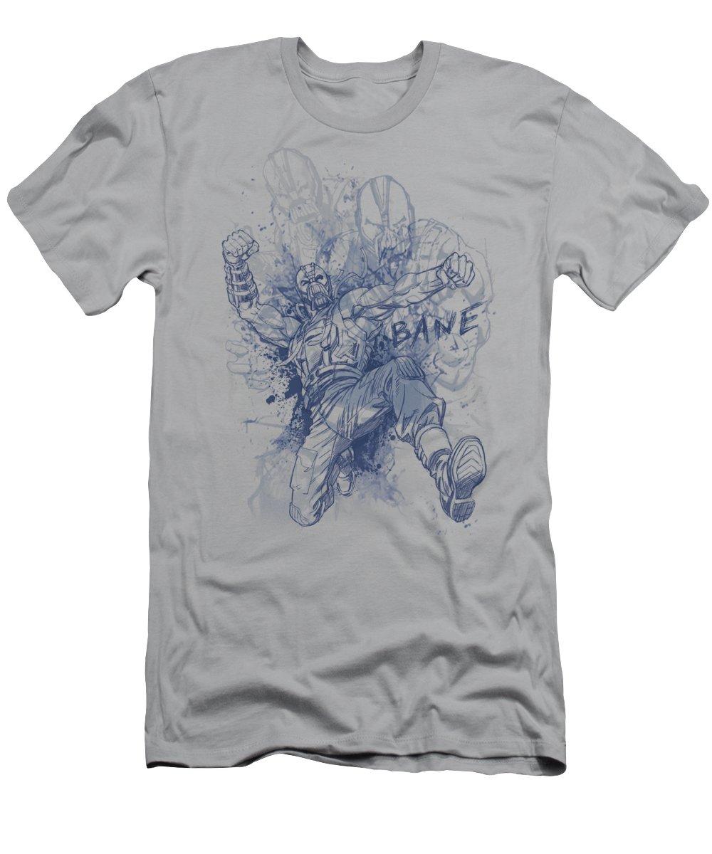 Dark Knight Rises T-Shirt featuring the digital art Dark Knight Rises - Bane Character Study by Brand A