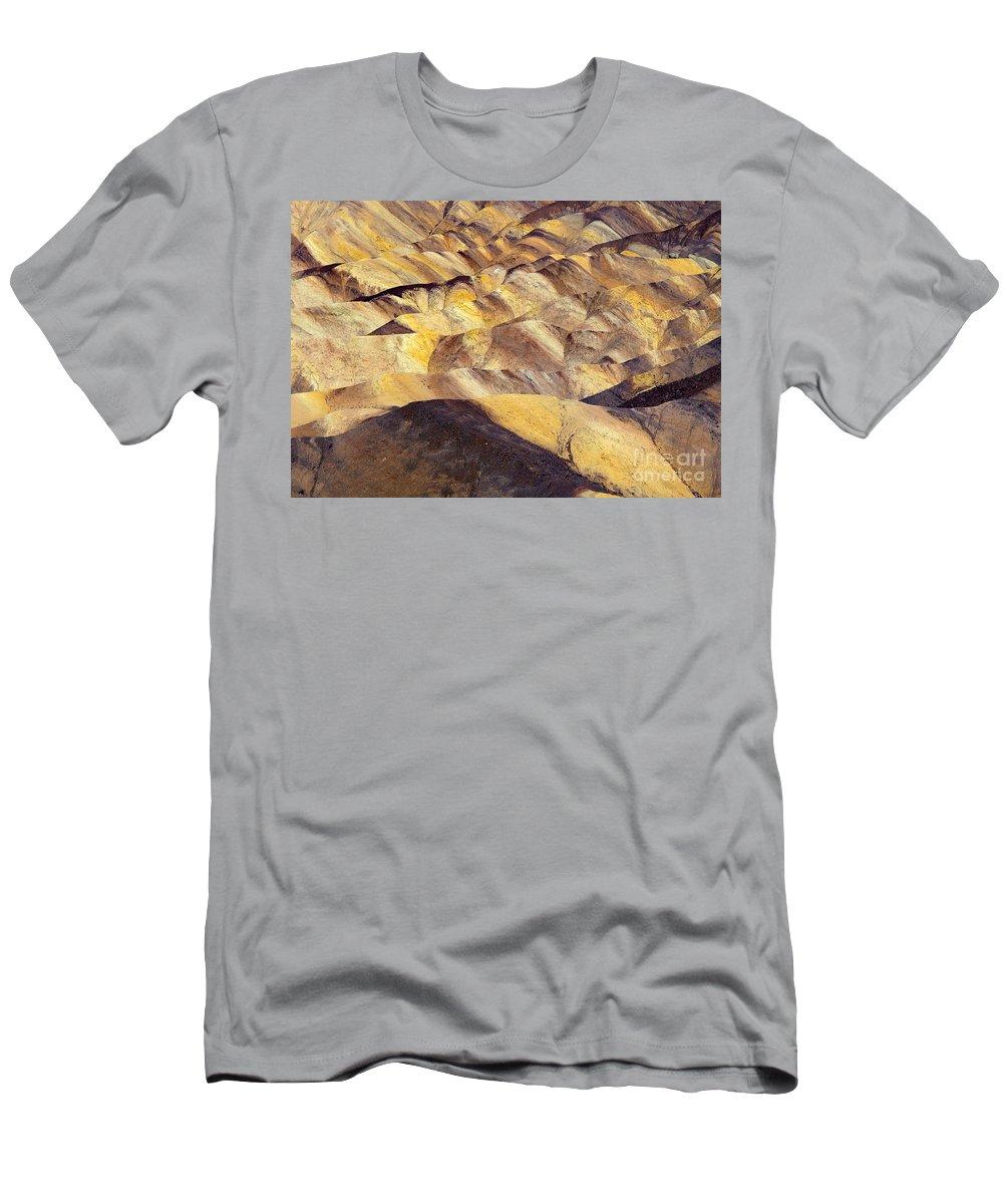 Zabriskie Point T-Shirt featuring the photograph Desert Undulations by Mike Dawson